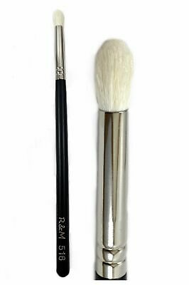 Pointy Oval Crease Shader Eyeshadow Brush - Synthetic Hair