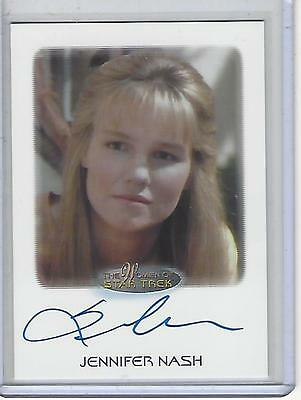 Women of Star Trek 2017 50th Anniversary Jennifer Nash autograph