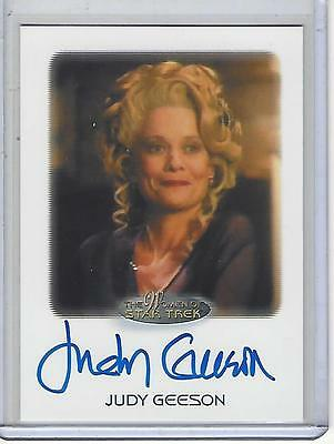 Women of Star Trek 2017 50th Anniversary Judy Geeson autograph