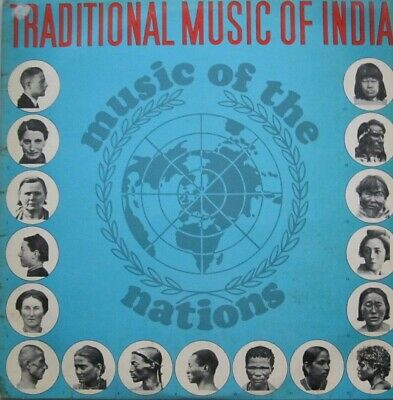Music Of The Nations: Traditional Music Of India -  Lp