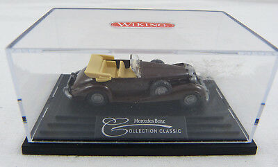 Mercedes-Benz 540 K Cabrio MB Collection Classic Wiking PC-Vit. 1:87 H0 OVP [WN]