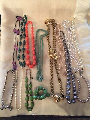 Mixed Lot Necklaces T2 Costume Jewellery Jewellery & Watches