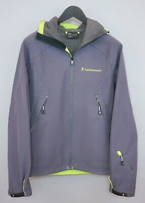 new style 87f2a bdfe3 UOMO PEAK PERFORMANCE Giacca Soft Shell Impermeabile S Zga7