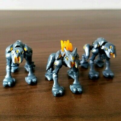 Figure Blue Halo Mega Bloks Set #DYT39 Promethean Crawler