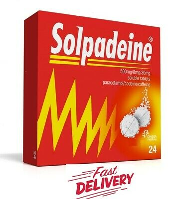 SOLPADEINE 24 Soluble - Migraine, Headache, Backache, Rheumatic pain