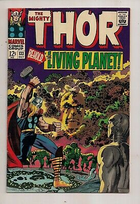 The Mighty Thor #133 Marvel Comics 1966 First Print