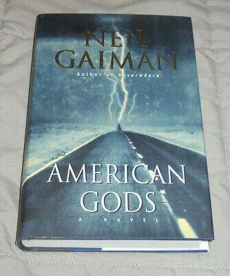 American Gods by Neil Gaiman (2001, Hardcover, 1st Edition)