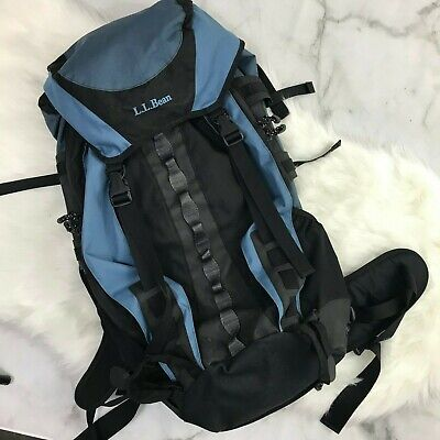 LL Bean Hiking Fanny Waist Hip Pack Blue Camping Outdoors Backpacking