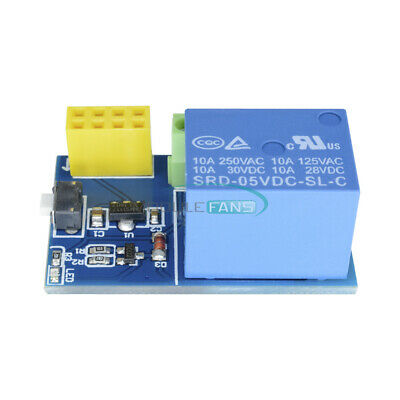 ESP8266 ESP-01S 5V Relay Module for Remote Switch TOI Phone APP DIY Project