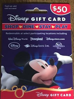 Disney World Gift Card With Holder 0 Balance For Collecting