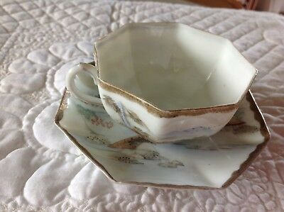 Antique Chinese Tea Cups And Saucers