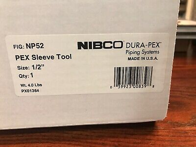 "*New Demos * NIBCO PEX 1/2"" SS SLEEVE CRIMP TOOL PX01364 *NP52"