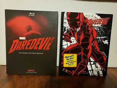 Daredevil Netflix Blu-ray seasons 1 and 2 complete
