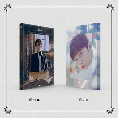 YOON JI SUNG [Aside] 1st Mini Album 2 SET (傍+白) CD+P.Book+4 Card+Sticker K-POP