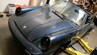 Porsche 911 964 1992 Carrera Cabriolet Shell Chassis Body Project