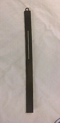 "Antique Vintage Dark Wood Wooden Pendulum Rod Wall Clock Mission- 10"" Long Parts"