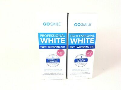 54fbaa45a7f Go Smile Teeth Whitening Gel 3.4 oz - 2 Pack