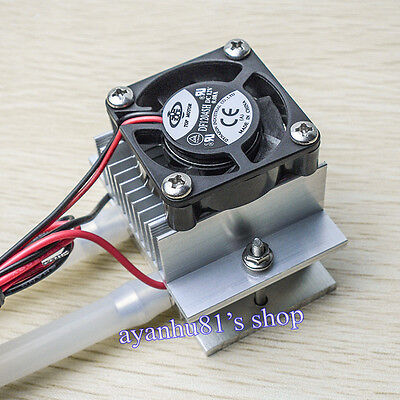 DIY kits Thermoelectric Peltier Semiconductor Refrigeration Water Cooling System