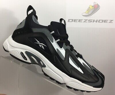cc752448816 REEBOK DMX SERIES 1200 Black Grey White Men Running Daddy Shoes ...