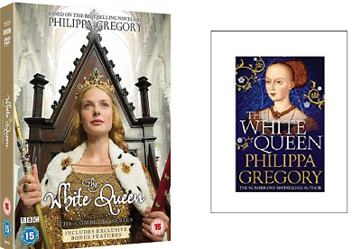 The White Queen Rebecca Ferguson Brand New DVD and book pack  5060020704277