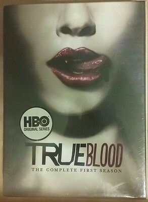 BRAND NEW SEALED TRUE BLOOD The Complete First Season 1 DVD 2009, 5 Disc Set