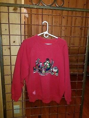 Pre-owned Vintage 1994 Warner Bros. Looney Tunes Sz Large/ very comphy!