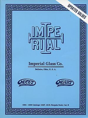 Imperial Glass Nucut Nuart Jewel Freehand Etc. Patterns / Book + Value Guide