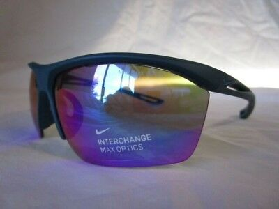 62d86f1acfb Nike Mens Tailwind S Matte Blue Force With Grey turquoise Mirror Lens  Sunglasses
