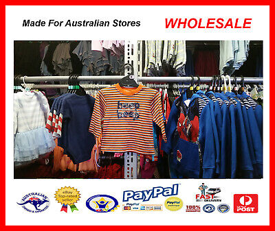AUS WHOLESALE BABY KIDS CLOTHING 50PCS Boys Knit Top Car Emb MYER RP $14.99