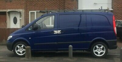 Mercedes Vito 109 Cdi Remapped, Roof Rack, 17 inch ML Alloys