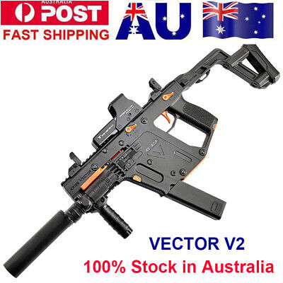 Nylon LeHui Vector V2 Water Gel Ball Blaster Auto Mag-fed Toy Gun Adult Size AU