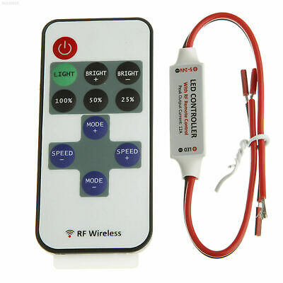 C1B3 12V 12A RF Wireless Remote 11 KEYS Switch Controller Dimmer LED Strip