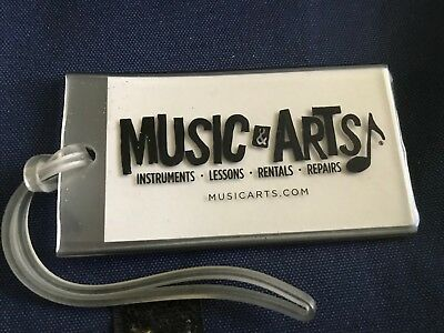 Music & Arts - bag instrument case luggage tag