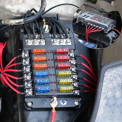 Cool Marine Fuse Terminal Junction Box With General Wiring Diagram Data Wiring 101 Cranwise Assnl