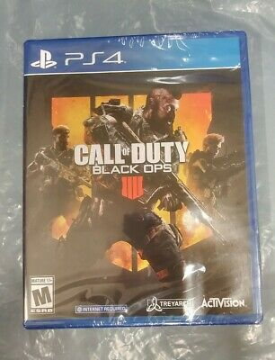 Call of Duty Black Ops 4 IIII (PlayStation 4) - New - Factory Sealed -fast ship!