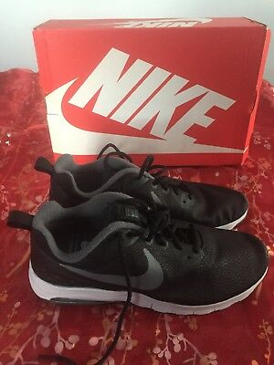 newest 89b2a c5f35 baskets NIKE AIR MAX motion racer HOMME -noir-taille 44-neuves avec  emballage