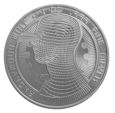 Bitcoin Guardian Proof 1 Oz One Ounce Silver Coin (Limited Edition of 10000)