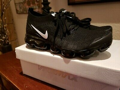 Nike Air Vapormax Flyknit 2 Black White Men's 8.0