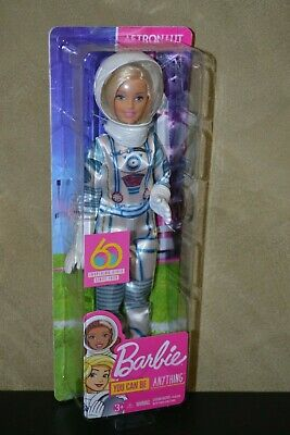 Brand New Barbie Doll 60Th Anniversary Careers Barbie Astronaut