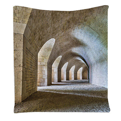 Medieval Decor Collection, Castle Tunnel Interior with Arches in a Bastion  G7L9
