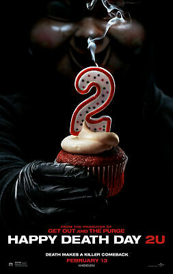 Happy Death Day 2U - Admit 2 Adults Movie Cinema Ticket Free Post Movie Tickets