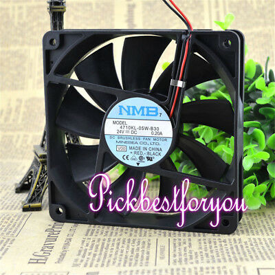 1Pcs NMB-MAT 4710KL-05W-B30 12025MM 24V 0.20A cooling fan #M4236 QL