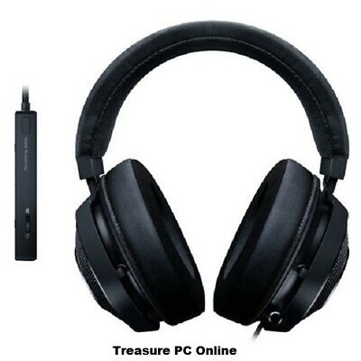 Razer Kraken Tournament Edition Black Gaming Headset with USB Audio Controller