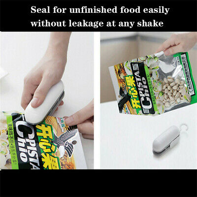 Mini Heat Sealing Machine Portable Impulse Food Packing Plastic Bags Sealer Tool