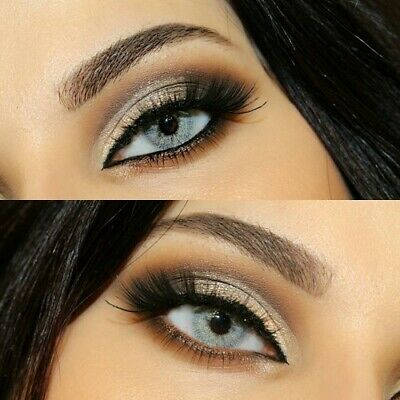 Vibrant Sky Gray Eye Color Lenses Make Up Contacts Cosmetic Free Shipping