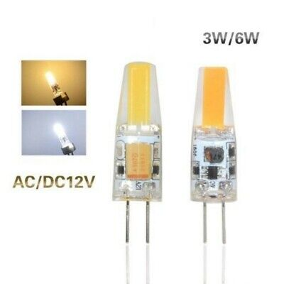 10X 20X 30X G4 COB 3W 6W LED AC DC 12V Light High Quality COB Lamp Bulb Dimmable