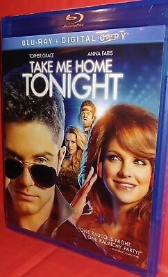 Take Me Home Tonight (Blu-ray Disc, 2011, 2-Disc) BRAND NEW FACTORY SEALED!!!