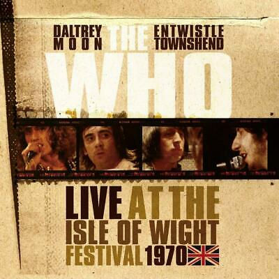 The Who - Live At The Isle Of Wight Festival 1970 Ltd Vinyl Edit 4 Lp+Cd Neu