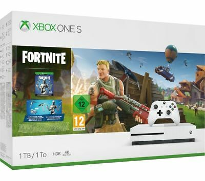 Xbox One S 1TB Console & Fortnite Battle Royale Bundle NEW & SEALED