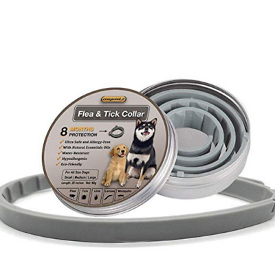 New Flea and Tick Collar for Large Dog and cat Over 18lbs 8 Month Protection